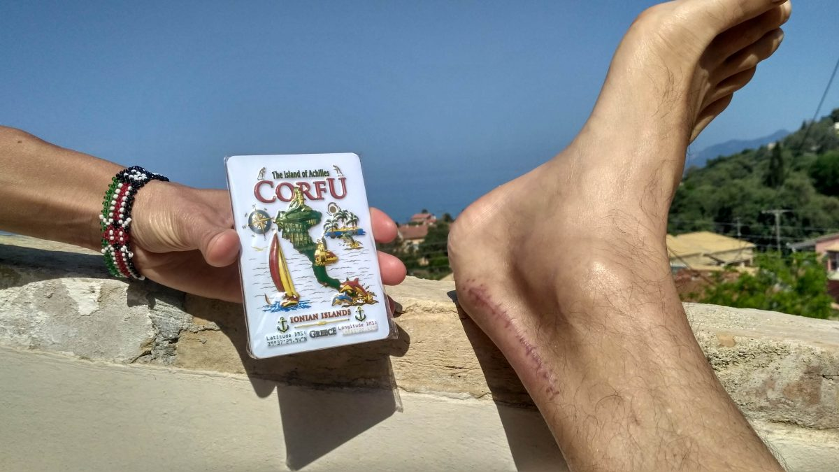 Korfu - wyspa Achillesa